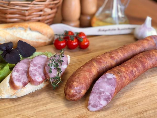 Колбаса полукопчёная Свиная «Премиум»